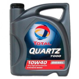 Моторное масло Total Quartz Diesel 7000 10W-40 5 л