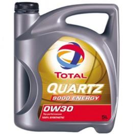 Моторное масло Total Quartz Energy 9000 0W-30 5 л
