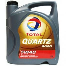 Моторное масло Total Quartz 9000 5W-40 4 л