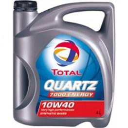 Моторное масло Total Quartz Energy 7000 10W-40 4 л