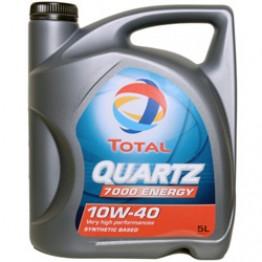 Моторное масло Total Quartz Energy 7000 10W-40 5 л
