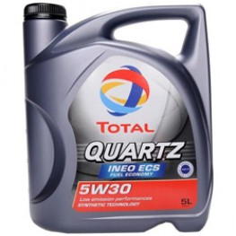 Моторное масло Total Quartz Ineo ECS 5W-30 5 л