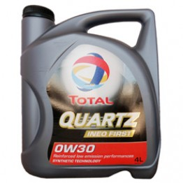 Моторное масло Total Quartz Ineo First 0W-30 4 л