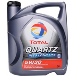 Моторное масло Total Quartz Ineo Llong Life 5W-30 5 л