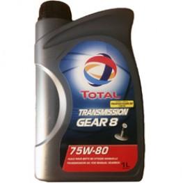 Трансмиссионное масло Total Transmission GEAR 8 75W-80 1 л
