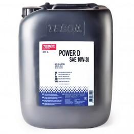 Моторное масло Teboil Power D 10W-30 20 л