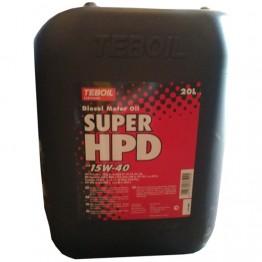 Моторное масло Teboil Super HPD 15W-40 20 л