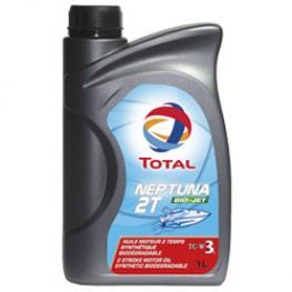 Моторное масло для лодок 2Т Total Neptuna 2T Bio-Jet 1 л