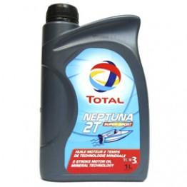 Моторное масло для лодок 2Т Total Neptuna 2T Super Sport 1 л