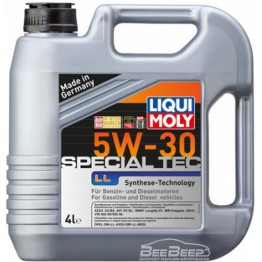 Моторное масло Liqui Moly Leichtlauf Special Tec LL 5w-30 7654 4 л