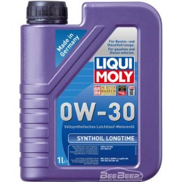 Моторное масло Liqui Moly Synthoil Longtime 0w-30 8976 1 л