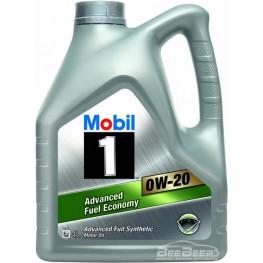 Моторное масло Mobil 1 0w-20 4 л