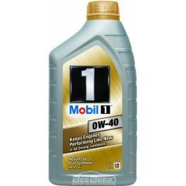 Моторное масло Mobil 1 0W-40 1 л