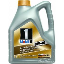 Моторное масло Mobil 1 0W-40 4 л