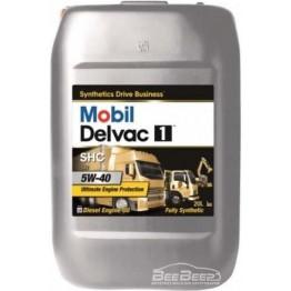 Моторное масло Mobil Delvac 1 SHC 5w-40 20 л