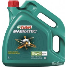 Моторное масло Castrol Magnatec 10w-40 A3/B4 4 л