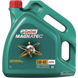 Моторное масло Castrol Magnatec 5w-40 A3/B4 4 л