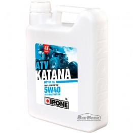 Моторное масло для квадроцикла Ipone Katana ATV 5w-40 4л