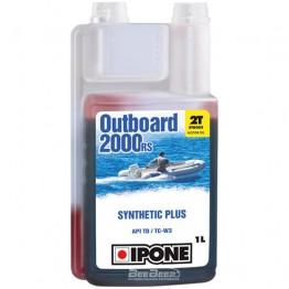 Моторное масло для гидроцикла Ipone Marine 2 Outboard 2000 RS 1л