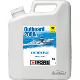 Моторное масло для гидроцикла Ipone Marine 2 Outboard 2000 RS 5л