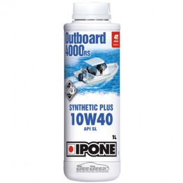 Моторное масло для гидроцикла Ipone Marine 4 Outboard 4000 RS 1л