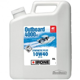 Моторное масло для гидроцикла Ipone Marine 4 Outboard 4000 RS 5л