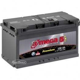 Аккумулятор автомобильный A-Mega Premium 6СТ-100-Аз R+