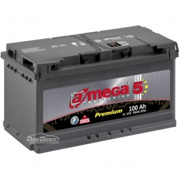 Аккумулятор автомобильный A-Mega Premium 6СТ-100-Аз L+