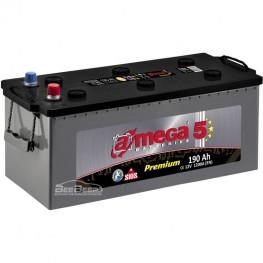 Аккумулятор автомобильный A-Mega Premium 6СТ-190-Аз R+