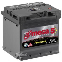 Аккумулятор автомобильный A-Mega Premium 6СТ-45-Аз L+