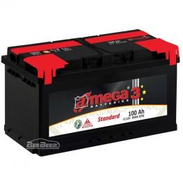 Аккумулятор автомобильный A-Mega Standard 6СТ-100-Аз R+