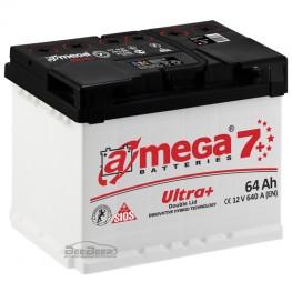 Акумулятор автомобільний A-Mega Ultra+ 6СТ-64-Аз R+