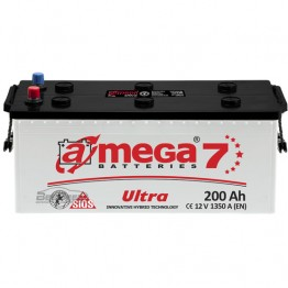 Аккумулятор автомобильный A-Mega Ultra 6СТ-200-Аз R+