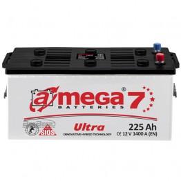 Аккумулятор автомобильный A-Mega Ultra 6СТ-225-Аз R+