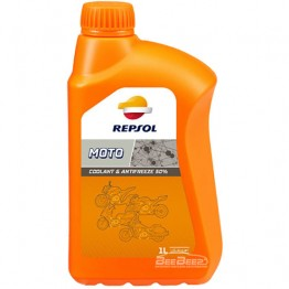 Антифриз Repsol Moto Coolant & Antifreeze 50% 1л
