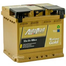 Аккумулятор автомобильный AutoPart Galaxy Gold 52Ah R+