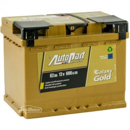 Аккумулятор автомобильный AutoPart Galaxy Gold 62Ah R+