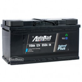 Аккумулятор автомобильный AutoPart Galaxy Plus 110Ah R+