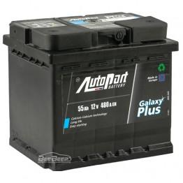 Аккумулятор автомобильный AutoPart Galaxy Plus 55Ah L+
