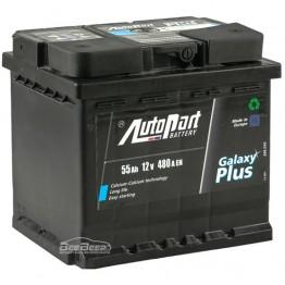 Аккумулятор автомобильный AutoPart Galaxy Plus 55Ah R+