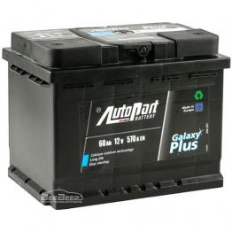 Аккумулятор автомобильный AutoPart Galaxy Plus 60Ah R+