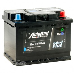 Аккумулятор автомобильный AutoPart Galaxy Plus 66Ah R+