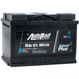Аккумулятор автомобильный AutoPart Galaxy Plus 78Ah R+