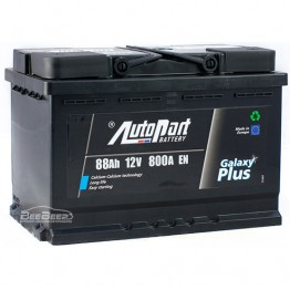 Аккумулятор автомобильный AutoPart Galaxy Plus 88Ah R+