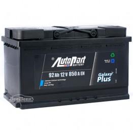 Аккумулятор автомобильный AutoPart Galaxy Plus 92Ah R+