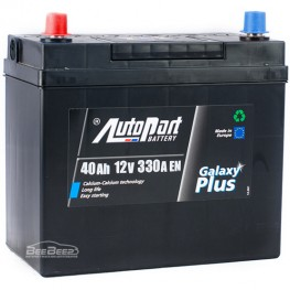 Аккумулятор автомобильный AutoPart Galaxy Plus Japanese 40Ah L+