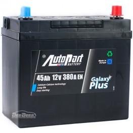 Аккумулятор автомобильный AutoPart Galaxy Plus Japanese 45Ah L+