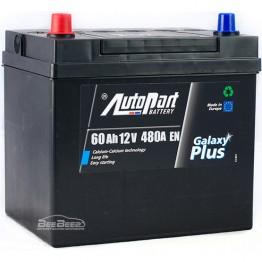 Аккумулятор автомобильный AutoPart Galaxy Plus Japanese 60Ah L+