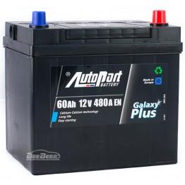 Аккумулятор автомобильный AutoPart Galaxy Plus Japanese 60Ah R+