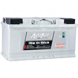 Аккумулятор автомобильный AutoPart Galaxy Silver 110Ah R+